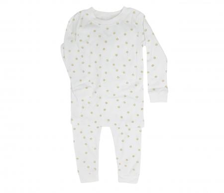 Acquarella beige pajamas