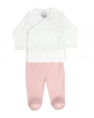 Pink Two-Piece 'Classico' Set